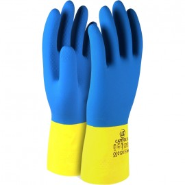 Chemical Resistant Rubber Glove. (5 pairs)