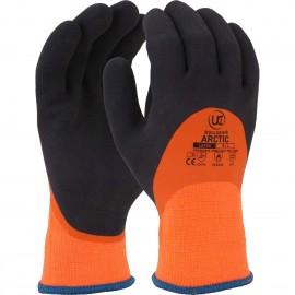 Thermal dual latex coated glove