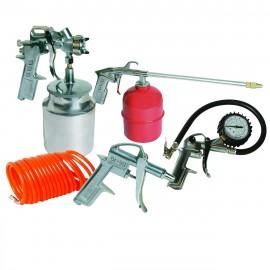 Air Tools & Compressor Accessories Kit 5pce