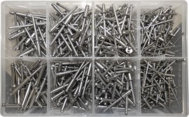 Assorted Stainless Steel Rivets (500)