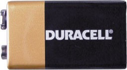 Duracell Battery/Batteries  9v   (1)