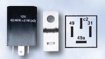 Flasher Unit (12v) - 4 Pin Electronic