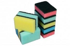 Pack of Sponge Scourers (10)