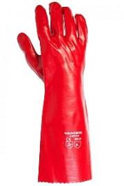 Red PVC Gauntlet