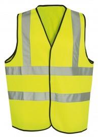 Yellow High-Visual Waistcoat