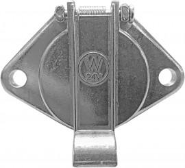 7-Pin Socket 24v Metal